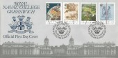 1984 Greenwich Meridian, Royal Naval College Official FDC, Meridian Centenary Royal College Greenwich London SE H/S.