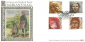 1993 Roman Britain, Benham Official SpG 21 FDC, Roman Britain Newcastle Upon Tyne H/S.