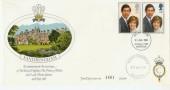 1981 Royal Wedding Sandringham FDC, King's Lynn FDI