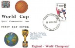 1966 England World Cup Winners, Connoisseur FDC, Manchester FDI.