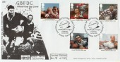 1995 Rugby League GBFDC GB1 Official FDC Now very Scarce