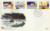 1985 Safety at Sea RNLI Poole Dorset Official FDC