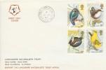 1980 British Birds, Lancashire Naturalists' Trust FDC, Slaidburn Clitheroe Lancs. cds.
