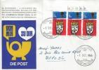 1966 Christmas, Rheindahlen Garrison Stamp Club FDC, British Forces Postal Service 1000 H/S.