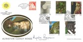 1995 National Trust, Benham Official FDC, The Clergy House Alfriston E. Sussex National Trust Centenary H/S. Signed by Angela Rippon.