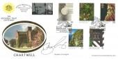 1995 National Trust, Benham Official FDC, Chartwell Westerham Kent National Trust Centenary H/S. Signed by Bamber Gascoigne.