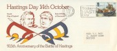 1981, 915th Anniversary of the Battle of Hastings, Today is Hastings Day Slogan.