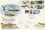 1965 Battle of Britain Phosphor Set, Biggin Hill cds. Signed by Douglas Bader