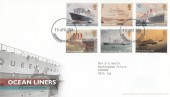 2004 Ocean Liners, Royal Mail FDC, Buckingham Palace cds.