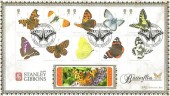 2013 Butterflies, Benham Gold 500 Official FDC, Butterflies London SW7 H/S.