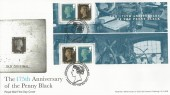 2015 The 175th Anniversary of the Penny Black Miscut Miniature Sheet, 175th Anniversary of the Penny Black London NW1 H/S.