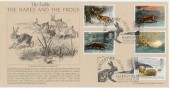 1992 Wintertime Haresfield Bradbury Official FDC