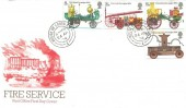 1974 Fire Service, Post Office FDC, House of Lords SW1 cds.