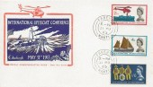 1963 International Lifeboat Conference, Illustrated FDC, Fareham Hants. cds.