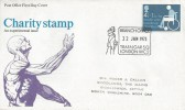 1975 Charity, Post Office FDC, Branch Office Trafalgar Sq London WC2 H/S.