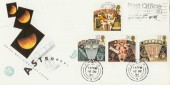 1990 Astronomy Post Office Mercury Card Slogan