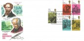 1970 Literary Anniversaries, Philart FDC, Dickens Fellowship Broadstairs Branch Broadstairs Kent H/S.
