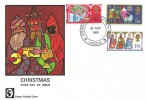 1969 Christmas, Cameo FDC, Jerusalem Skellingthorpe Lincoln H/S.