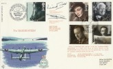 1985 British Films RFDC Official FDC. Dambusters BF 2101 PS H/S, Signed by Richard Todd
