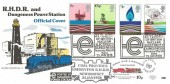 1978 Energy, Romney Hythe & Dymchurch Railway FDC, 21 Years of British Nuclear Electricity Dungeness Romney Marsh Kent H/S + 10p Railway Letter Stamp.