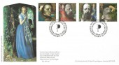 1992 Tennyson, Covercraft Official FDC, The Poetry Society Westminster Abbey London SW1 H/S.