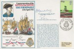 1978 Commemoration of the Battle of the Saintes HMS Formidable, Signed by Rear Admiral Buckley & Lord Rodney, Battle of the Saintes HMS Barfleur H/S.
