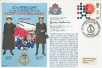 1977 60th Anniversary of the Formation of the Women's Royal Naval Service cover. Signed by Commandant McBride & Mrs J Rossiter.