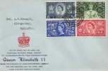 1953 Coronation, Illustrated FDC, Aberdeen cds.