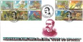 2002, The Just So Stories, M J Kingsland Official FDC, Rudyard Kipling's Just So Stories Kipling Drive London SW19 H/S.