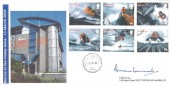 2008,  S.O.S Rescue at Sea, Signed CDS Covers FDC, Longfleet Poole Dorset cds.