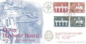1984 Europa, Bradbury Dover Harbour Board LFDC No. 33, Flown cover, 35th Anniversary of the Formation of NATO British Forces 1949 Postal Service H/S.