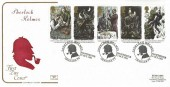 1993 Sherlock Holmes, Cotswold FDC, Sherlock Holmes Granada TV Manchester H/S.