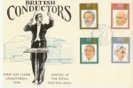 1980 British Conductors Anaesthesia Hawkwood Official FDC