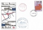 1973 European Communities, Historic Relics FDC, 3p only Dover Kent FDI + Paquebot.