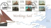 2015 Post and Go Working Sail, Harriet's Collection HC02 Official FDC, Working Sail Greenwich London SE10 H/S.