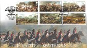 2015 Battle of Waterloo, Harriet's Collection Official HC10 FDC, 200th Anniversary Battle of Waterloo Cannon St. London EC4 H/S.