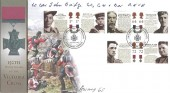 2006 Victoria Cross, Buckingham Covers Official FDC, Victoria Cross for Valour Hyde Park London H/S. Signed by 2 George Cross Winners.