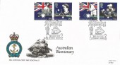 1988, Australian Bicentenary, RNLI Official FDC No.72, Australian Bicentenary Botany Bay Enfield Middx. H/S.