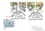 1979, Year of the Child, Philcovers FDC, Beatrix Potter 1866 - 1943 Lived in Near Sawrey Ambleside Cumbria H/S.