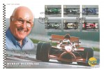 2007 Grand Prix, Westminster Official FDC, Grand Prix Autographed Editions Silverstone Towcester H/S. Signed by Murray Walker OBE.