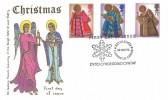 1972 Christmas, Thames FDC, First Day of Issue Bethlehem Llandeilo Carms, Dydd Cyhoeddiad Cyntaf H/S.