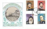 1972 Polar Explorers, Thames FDC, First Day of Issue Philatelic Bureau H/S.