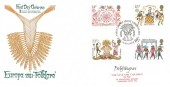 1981, Folklore, Save the Children Fund FDC, First Day of Issue London WC H/S, Signed by the Stamp Designer Fitz Wegner.