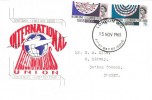 1965, International Telecommunications, Connoisseur FDC, London WC FDI.