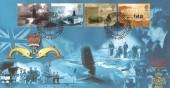 2001 Submarines, Steven Scott Official (Blue) FDC, Submarines Ocean Street London E1 H/S.