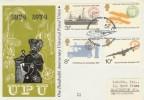 1974 Universal Postal Union on Benham Woodcut Southampton Seaplane H/S FDC