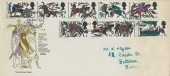 1966 Battle of Hastings, Illustrated FDC, London EC FDI.