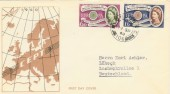 1960 Europa Scarce German Illustrated FDC. London WC 106 cds