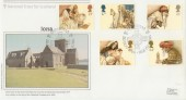 1984 Christmas National Trust for Scotland Official FDC