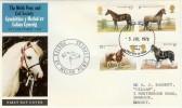 1978 Shire Horse Society Aberystwyth FDI on Welsh Pony & Cobb Society FDC